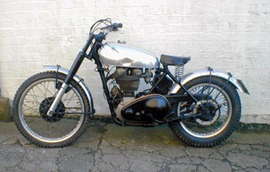 Lot 96-1948 AJS 16M Trials