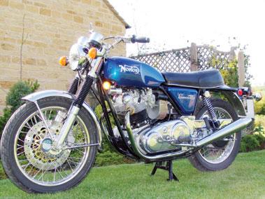 Lot 78-1971 Norton Commando 750