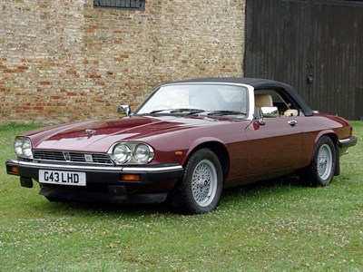 Lot 43-1990 Jaguar XJ-S 5.3 Convertible