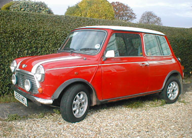 Lot 28-1991 Rover Mini Cooper