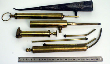 Lot 1-Brass Oilers And Extensions