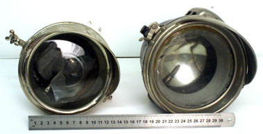 Lot 5-Two Motorcycle Headlamps