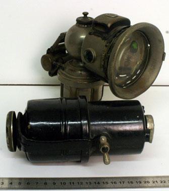 Lot 6-Carbide Cycle Lamp & Generator