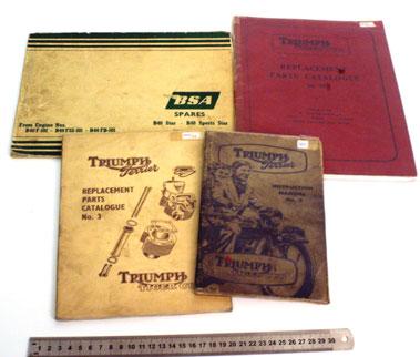 Lot 11-Triumph & Bsa Technical Literature