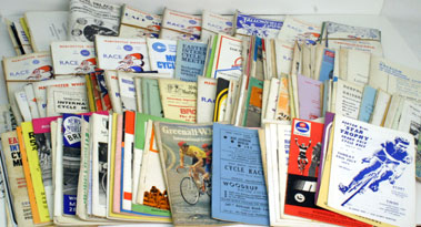 Lot 12-Quantity Of Cycle Racing Event Programmes