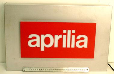 Lot 13-Aprilia Motorcycles Showroom Lightbox