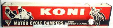 Lot 14-Koni Motorcycle Dampers Showroom Lightbox