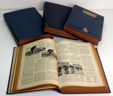 Lot 19-Bound Volumes Of Cycling 1939-1945