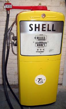 Lot 21-Gilbarco 1960s Petrol Pump**