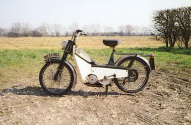 Lot 2-Mobylette 49cc
