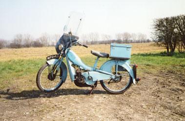 Lot 3-1959 Mobylette 49cc
