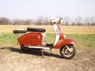 Lot 8-1961 Lambretta Motor Scooter