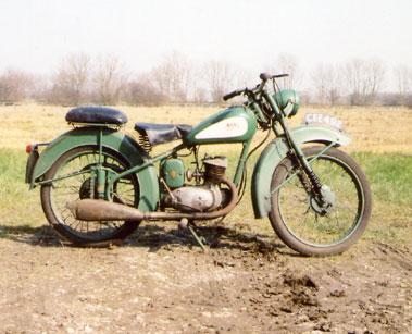 Lot 9-1951 BSA D1 Bantam
