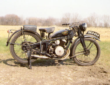 Lot 13-1936 Coventry Eagle
