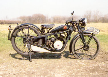 Lot 16-1935 Coventry Eagle