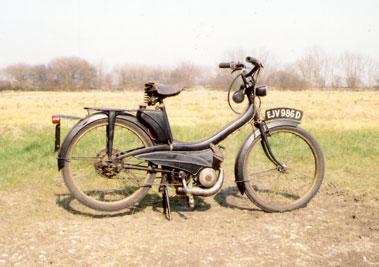 Lot 18-Mobylette 49cc