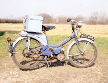 Lot 20-1971 Raleigh Moped