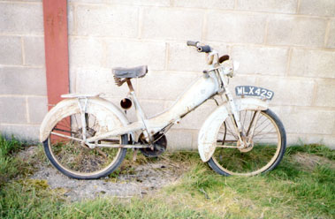 Lot 24-Mobylette Rolling Chassis