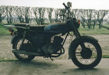 Lot 29-Suzuki K125