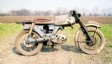 Lot 35-Suzuki T10 Rolling Chassis