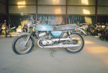Lot 39-Suzuki T500