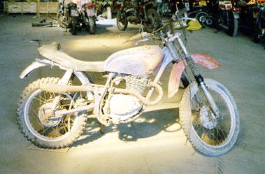 Lot 45-Honda Trail Bike
