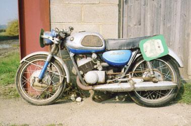 Lot 52-1969 Suzuki T20 Super Six Production Racer