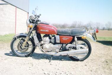 Lot 56-1975 Suzuki GT750A