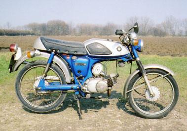 Lot 58-1970 Suzuki AS50 Sports