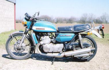 Lot 64-1972 Suzuki GT750J