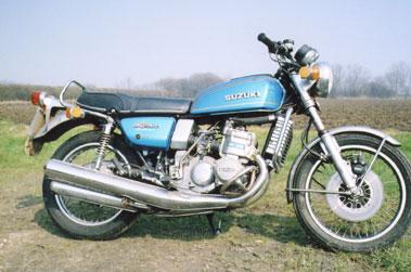 Lot 65-1976 Suzuki GT750A