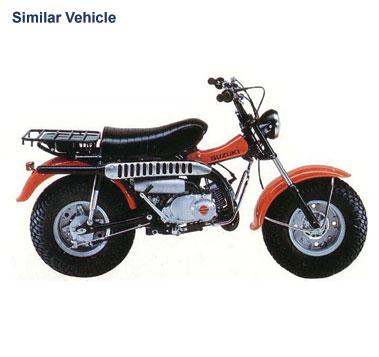 Lot 73-1981 Suzuki RV90