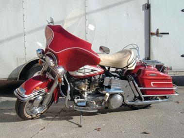 Lot 91-1970 Harley Davidson FLH-1200