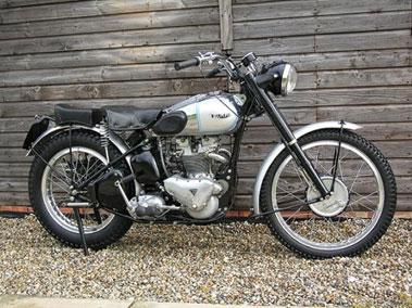 Lot 92-1952 Triumph TR5 Trophy