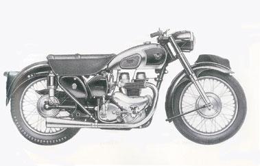 Lot 93-1953 Matchless G9
