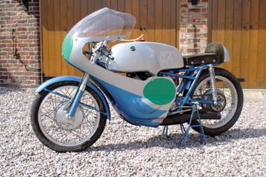 Lot 70-1961 Suzuki RV61 Racing Motorcycle