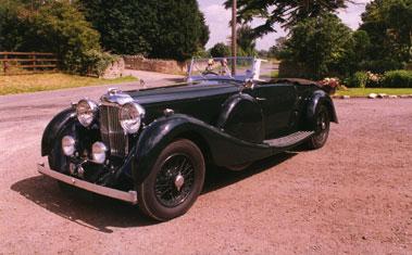 Lot 52-1936 Lagonda LG45 Tourer