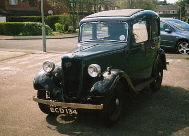 Lot 4-1936 Austin Seven Ruby