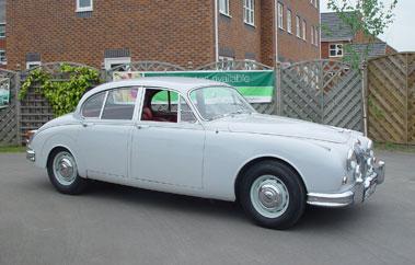 Lot 11-1960 Jaguar MK II 2.4 Litre