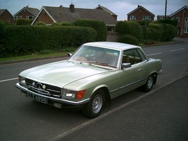 Lot 12-1980 Mercedes-Benz 450 SLC