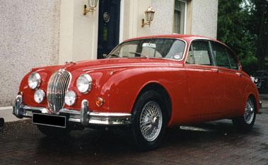 Lot 77-1966 Jaguar MK II 3.8 Litre