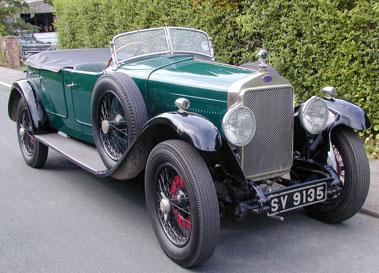 Lot 33-1929 Delage DR70 Four Seat Tourer