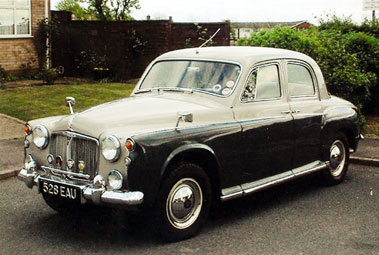Lot 5-1959 Rover 60