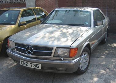 Lot 32-1989 Mercedes-Benz 500 SEC