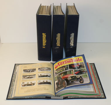Lot 2-Bound The Automobile Magazine And Others