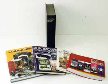 Lot 6-Assorted Car & Automobilia Reference Works