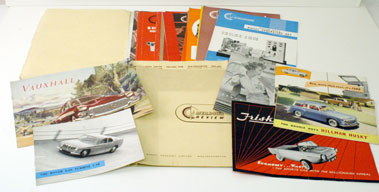 Lot 7-Assorted 1950s/60s Sales Literature