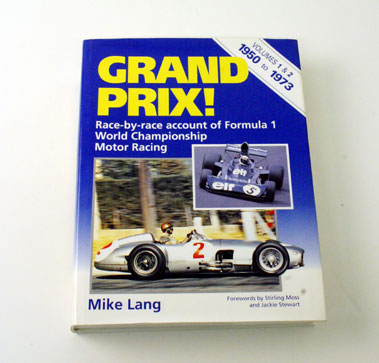Lot 10-Grand Prix Vols 1 & 2 By Mike Lang