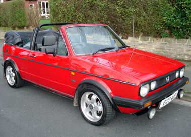 Lot 29-1987 Volkswagen Golf Clipper Convertible