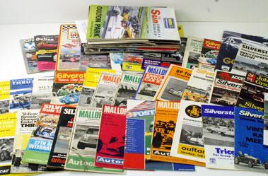 Lot 17-Assorted Race Programmes